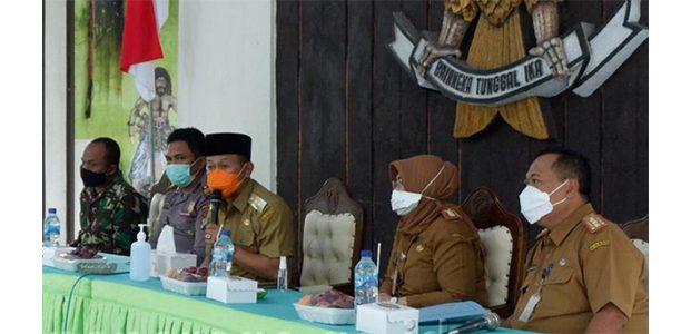 Kasus Covid-19 di Kecamatan Kota Masih Tinggi, Bupati Ponorogo Kumpulkan Kepala Kelurahan