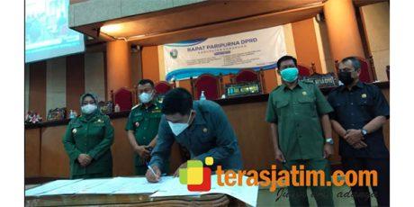 DRPD Ponorogo Sepakati Raperda PAPBD Tahun 2021 dan 4 Raperda Inisiatif