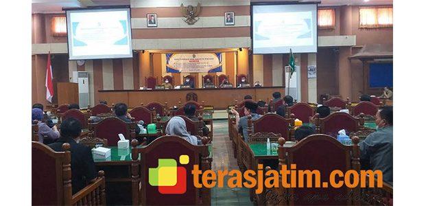 DRPD Ponorogo Gelar Rapat Paripurna Penyampaian Usulan Raperda RPJMD dan Pengarus Utamaan Gender