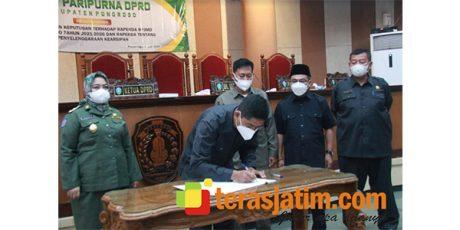 DPRD Ponorogo Sahkan Raperda Penyelenggaraan Kearsipan dan RPJMD 2021-2026