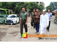 Danrem Baladhika Jaya Kunjungi Ponpes Nurul Jadid Probolinggo
