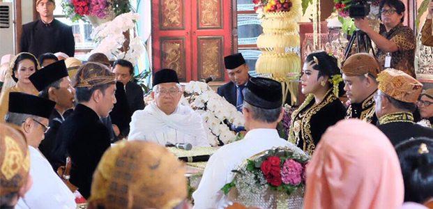 Presiden Bersyukur Ijab Kabul Pernikahan Kahiyang-Bobby Berjalan Lancar
