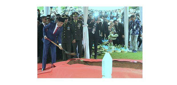 Presiden Jokowi Pimpin Upacara Pemakaman Ibu Ani Yudhoyono