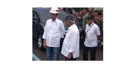 Di Blitar, Presiden Jokowi Tinjau Daerah Irigasi Lodoyo