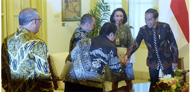 Presiden Terima 10 Nama Calon Pimpinan KPK
