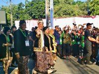 Kenakan Pakaian Raja, Presiden Buka Festival Keraton di Sumenep