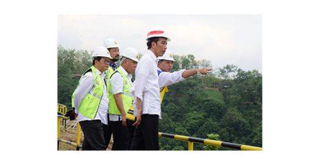 Presiden: Akhir 2019 Pembangunan Waduk Bendo Ponorogo Selesai