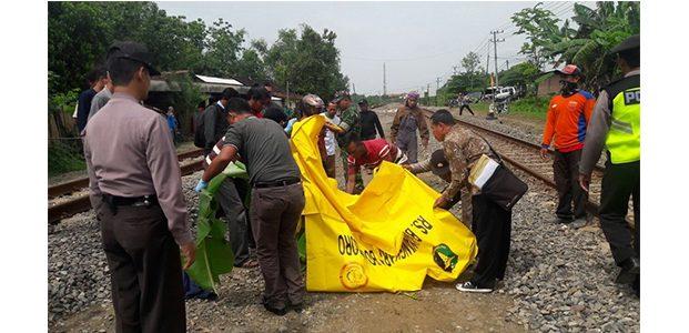 Tabrakan Diri ke Kereta Api di Bojonegoro, Pria Asal Surabaya Tewas Mengenaskan