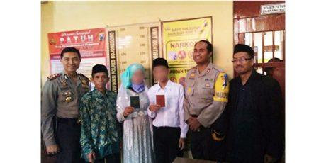 Pria Tahanan Kasus Pencurian Nikahi Kekasihnya di Sel Tahanan Polres Bojonegoro