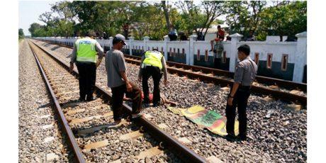 Pria Tanpa Identitas Tewas Tertabrak Kereta Api Barang di Prayungan Bojonegoro