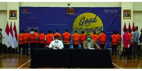 17 ASN Penyuap Bupati Probolinggo Diangkut ke Jakarta