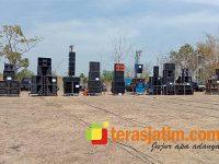 Puluhan Peserta Ikuti Lomba Sound System di Mekande Lamongan