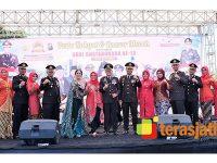 Puncak Hari Bhayangkara ke-73 Polres Bojonegoro Gelar Tasyakuran dan Bazar Murah