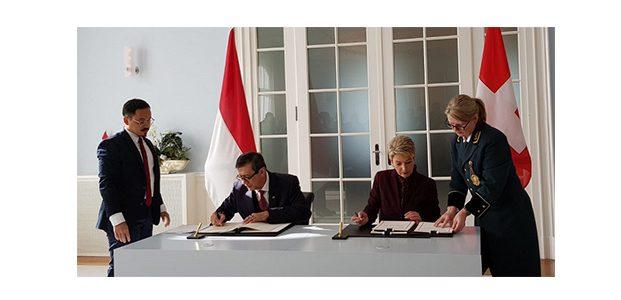 RI-Swiss Sepakati Perjanjian Bantuan Hukum Timbal Balik dalam Masalah Pidana