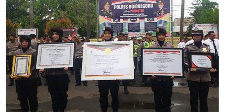 Raih Penghargaan Kemenpan RB, Polres Bojonegoro Syukuran