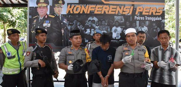 Rampok Tetangga Sendiri, Pria asal Tugu Trenggalek Ditangkap Polisi