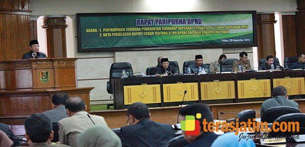 8 Reperda Diusulkan Pemkab Tuban pada DPRD