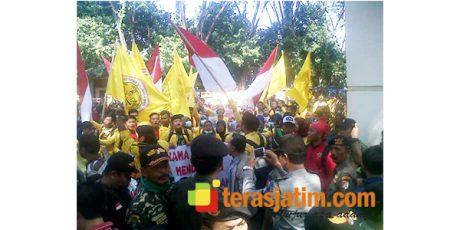 Ratusan Massa Gabungan di Bojonegoro, Tolak Kembalinya Paham Komunisme