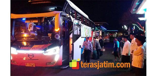 Ratusan Pemudik Serbu Progam Balik Gratis Jurusan Pacitan-Surabaya