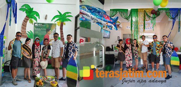 Rayakan Hari Pelanggan Nasional, BPJS TK Pacitan Usung Tema Pekerja Wisata di Pantai