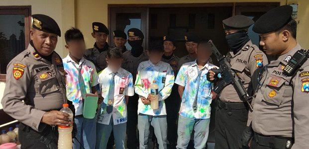 Rayakan Kelulusan dengan Pesta Tuak, 4 Pelajar di Bojonegoro Diamankan Polisi