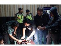 Polisi Gelar Razia Tempat Hiburan Malam di Kota Blitar
