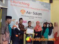 Resmi Diluncurkan, BUMMAS As Salam Desa Bandar Pacitan Miliki Inovasi Baru Yang Tembus Berbagai Kota