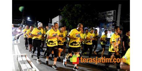Ribuan Pelari Ramaikan Brawijaya Beach Night Run