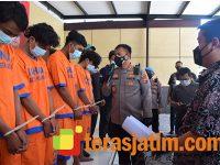 6 Pelaku Pengeroyokan di Bypass Balongbendo Sidoarjo Dibekuk, Sisanya Diburu