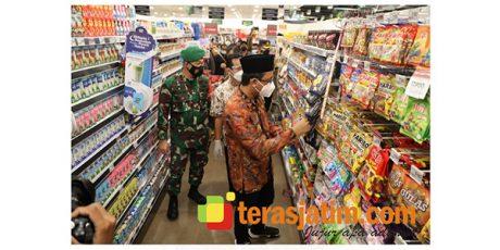 Cek Mamin Kadaluwarsa, Bupati dan Forkopimda Sidoarjo Blusukan ke Pusat Perbelanjaan