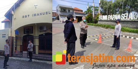 Pasca Ledakan Bom di Makasar, Polresta Sidoarjo Perketat Pengamanan Tempat Ibadah dan Perumahan