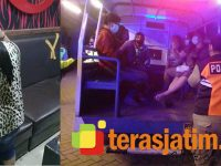 Razia Jelang Ramadhan di Krian Sidoarjo, Pengunjung Cafe dan Purel Diangkut Petugas
