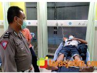 Tabrak Pikup di Balongbendo Sidoarjo, 2 Pemotor Terluka Parah