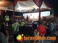 Acara Hajatan di Rumah Kades Sidokepung Sidoarjo Dibubarkan Aparat