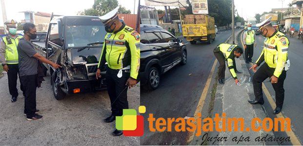 Ditabrak Pikap dari Belakang, Pemotor Asal Nganjuk Tewas Dilindas Truk