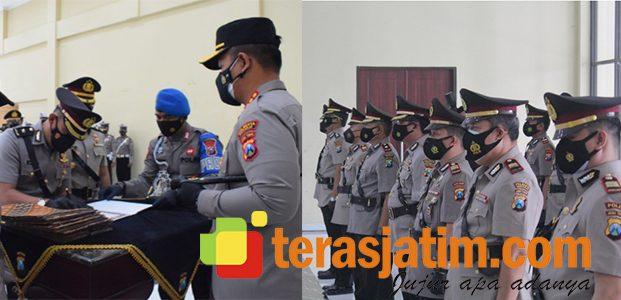 Pacu Kinerja, Beberapa Jabatan Perwira di Polresta Sidoarjo Alami Pergantian