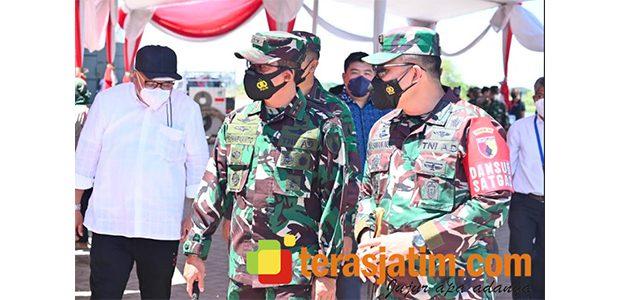 Pangdam Cek Kesiapan Pengamanan Kunjungan Wapres di Sidoarjo