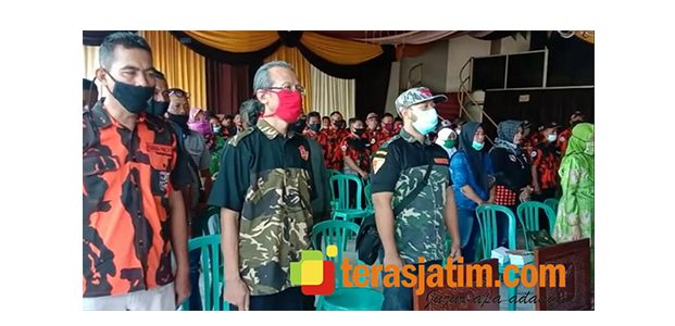 Peringati HUT ke-61, Pemuda Pancasila Bojonegoro Gelar Pasukan dan Bhakti Sosial