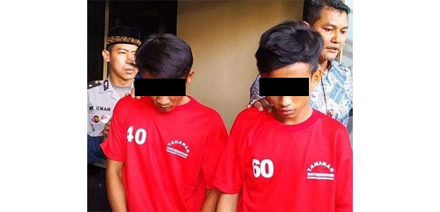 Sakit Hati Dimarahi, 2 Pemuda ini Nekad Habisi Nyawa Bosnya