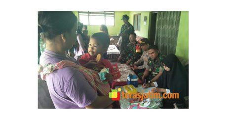 Satgas TMMD Kodim Jember Sediakan Pelayanan Kesehatan Ibu dan Anak