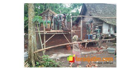 Satgas TMMD di Jember Kebut Pembangunan Sejumlah RTLH