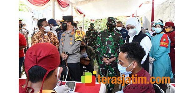 Pangdam Targetkan Warga Papua di Surabaya Sudah Terima Vaksin Covid-19