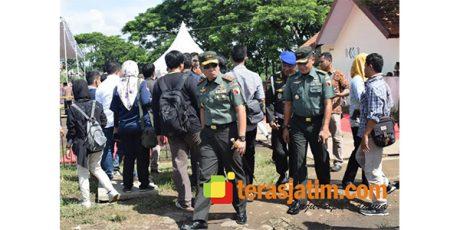 Sehari Dilantik, Pangdam Brawijaya Amankan Kunker Presiden