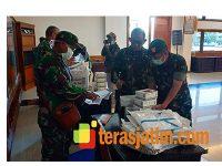 Sejumlah Rumah Sakit TNI-AD di Jatim Terima Distribusi APD