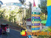 Semarakkan Desa Sadar Jaminan Sosial Ketenagakerjaan, 2 Desa di Pacitan dicat Hijau Kuning Biru