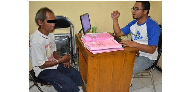 Polres Situbondo Tangkap Kakek Tua Pelaku Pencabulan Gadis 9 Tahun