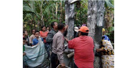 Seorang Nenek di Pagu Kediri, Ditemukan Tewas di Dalam Sumur