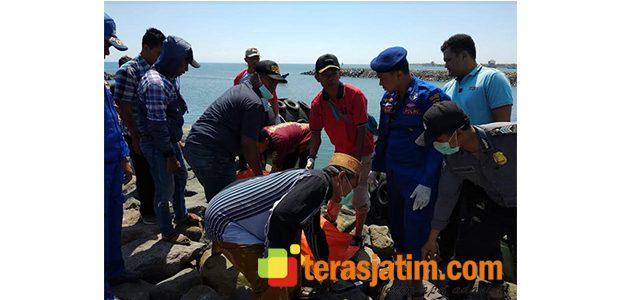 Sesosok Mayat Ditemukan di Dermaga Pelabuhan Kalbut Situbondo