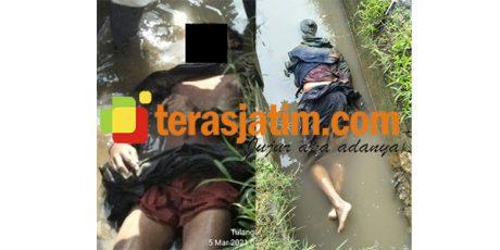 Mayat Pemuda Ditemukan Mengambang di Ploso Tulangan Sidoarjo