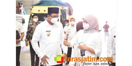 Pastikan Stok Beras Saat Ramadhan, Bupati Muhdlor Tinjau Gudang Bulog Buduran Sidoarjo